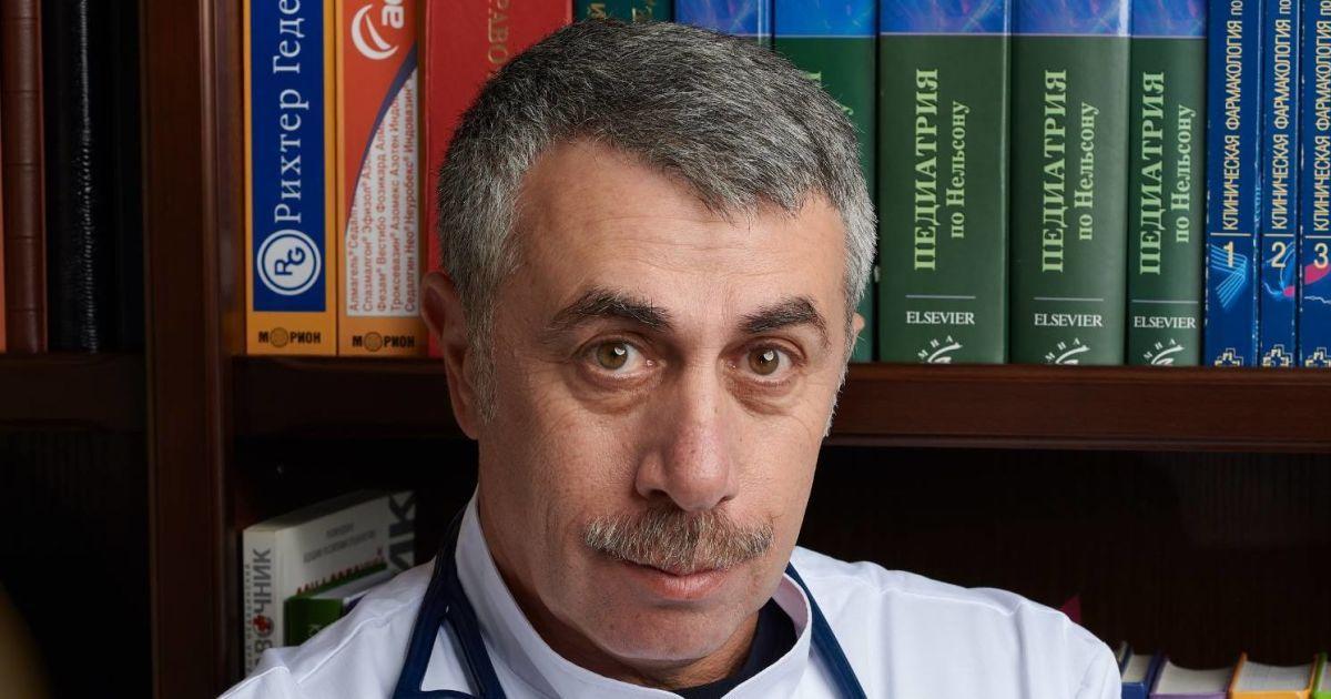 Коронавірусом заражають безсимптомні: Комаровський пояснив, кому потрібно носити маски