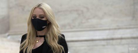 Образ мог бы быть скромнее: Тиффани Трамп на похоронах Рут Гинзбург