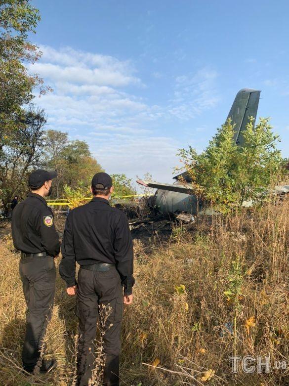 Самолет около Чугуева разбился