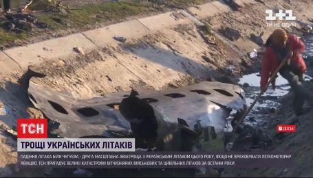 Авиакатастрофы с украинскими военными и гражданскими самолетами, произошедшие за последние годы