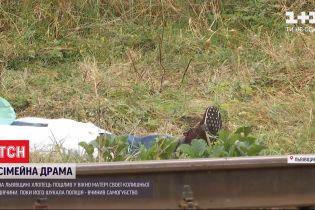 Во Львовской области мужчина пытался убить маму своей бывшей девушки, а затем совершил самоубийство