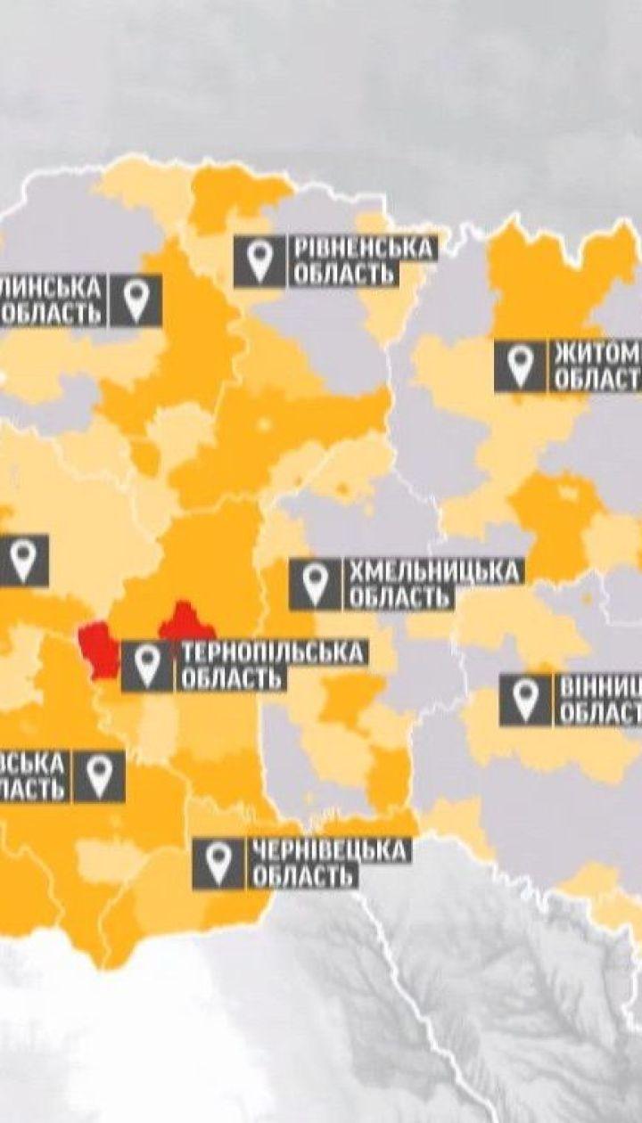 """Коронавирус в Украине: в """"оранжевую"""" зону перешла сотня населенных пунктов"""