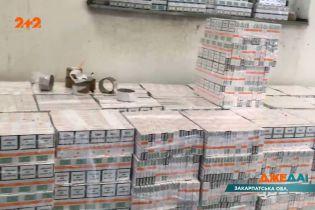 На Закарпатье пограничники задержали контрабандиста, который перевозил нелегальные сигареты