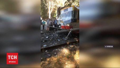 В Одесі сталося дві ДТП за участі трамваїв