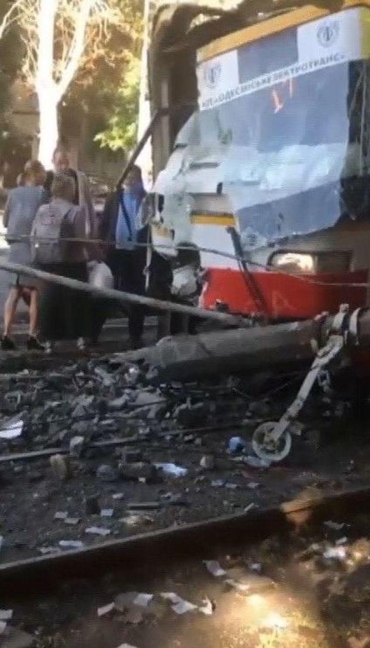 В Одессе произошло два ДТП с участием трамваев