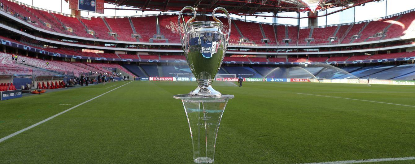 Ліга чемпіонів-2020/21: календар групового етапу