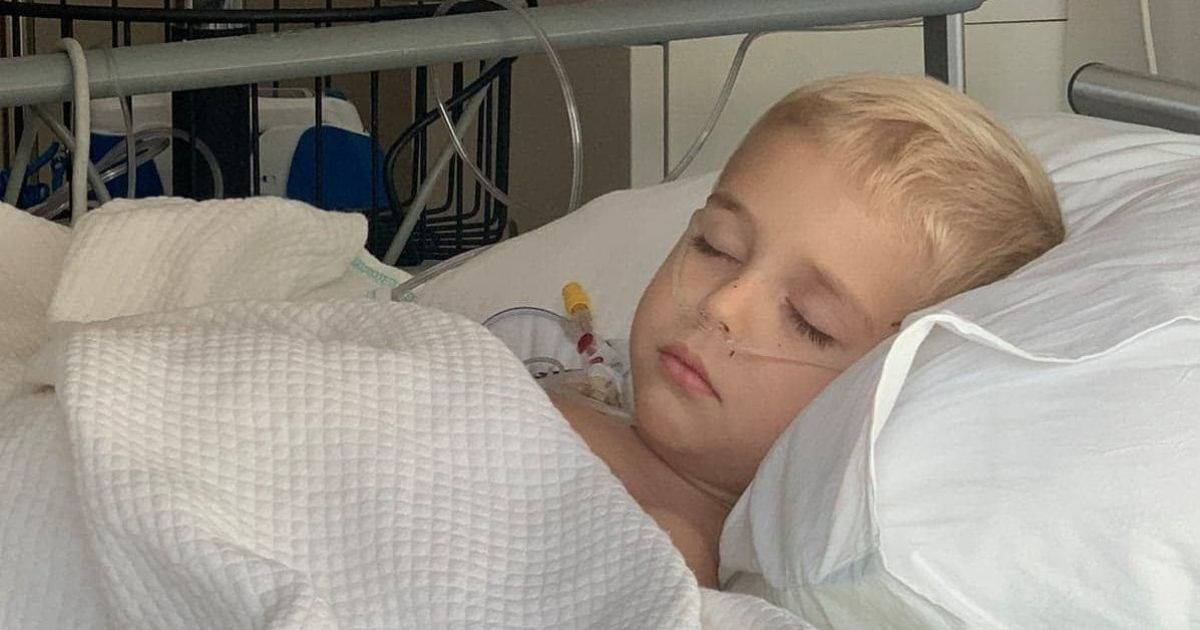 Врачи спасают 2-летнего Давида: семье нужна помощь