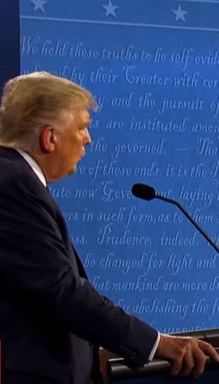Хаос и оскорбления: между Джо Байденом и Дональдом Трампом состоялись первые дебаты