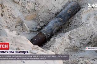 Отголоски второй мировой: в Николаевской области нашли 80 артснарядов и авиабомбы (видео)