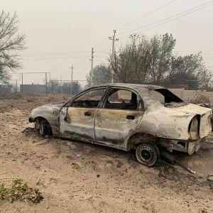 Растет число погибших в масштабном пожаре в Луганской области