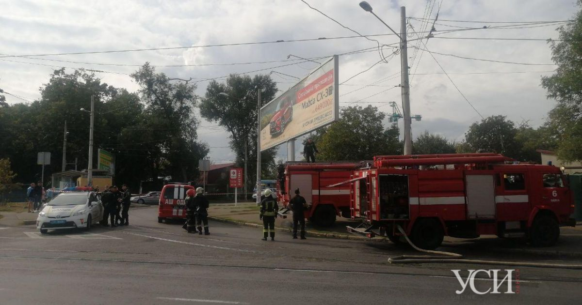 В Одессе произошел пожар в частном доме: появились фото и видео