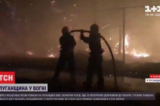 Масштабные пожары в Луганской области: какие есть прогнозы по ситуации