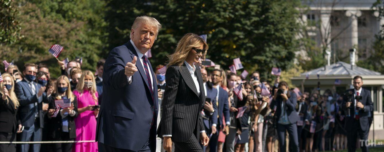 Дональд Трамп і його дружина Меланія захворіли на коронавірус