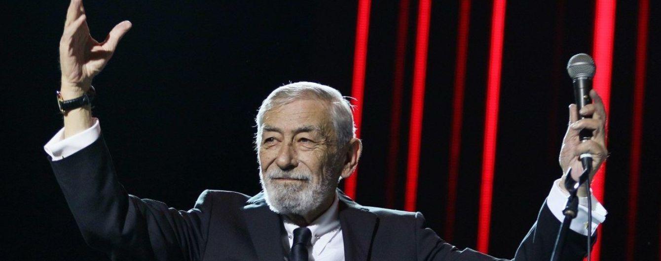 Вахтанг Кикабидзе идет в политику: певец возглавил список партии Саакашвили на выборах в Грузии