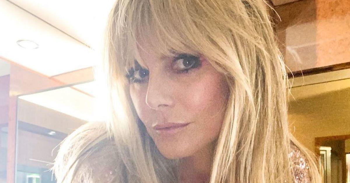 Это смело: 47-летняя Хайди Клум откровенно обнажилась перед камерой