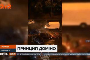 Масштабна аварія в Івано-Франківську: зіткнулися одразу п'ять легковиків