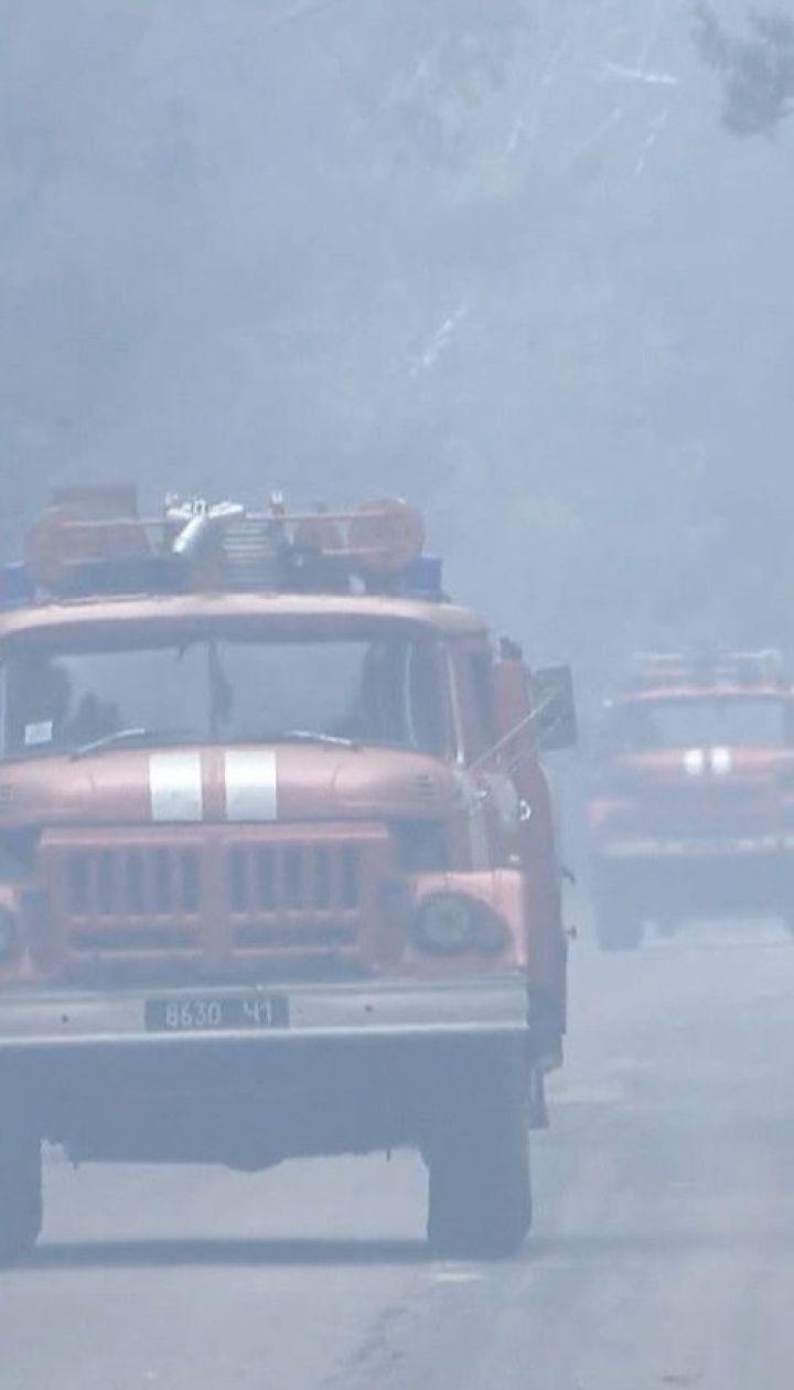 ТСН узнала подробности масштабного пожара в Луганской области