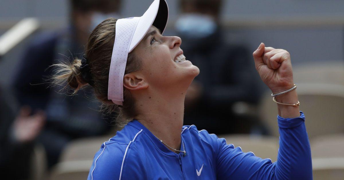 Свитолина разгромила француженку и вышла в четвертьфинал Roland Garros