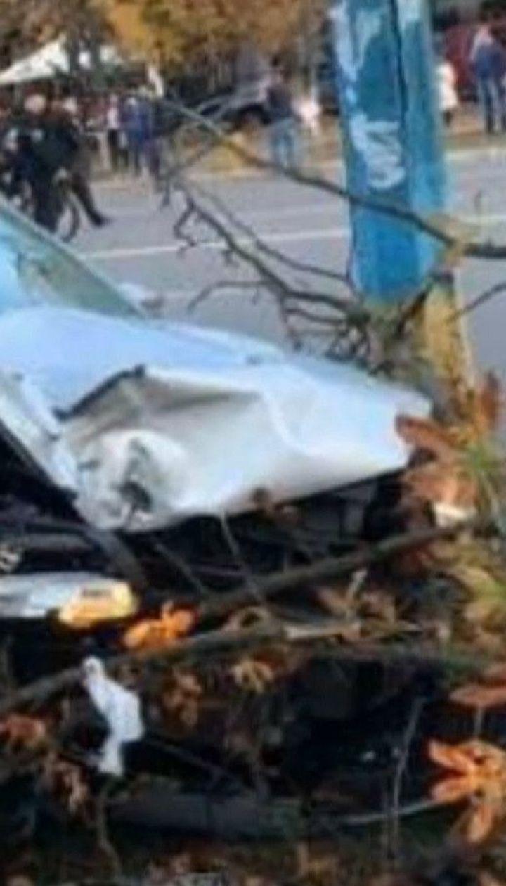 У Броварах п'яний поліцейський на смерть збив жінку на пішохідному переході