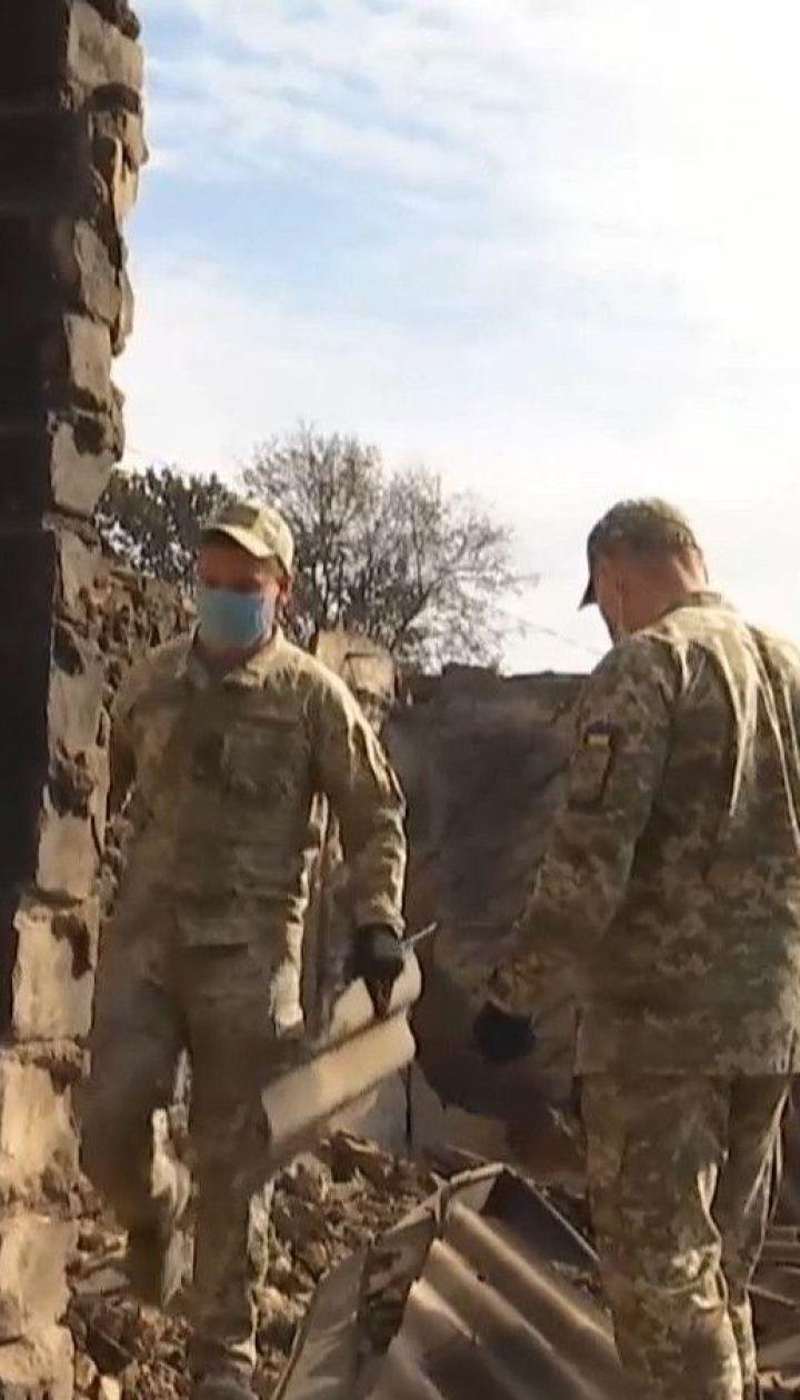В Луганской области удалось локализовать огонь на большинстве территории
