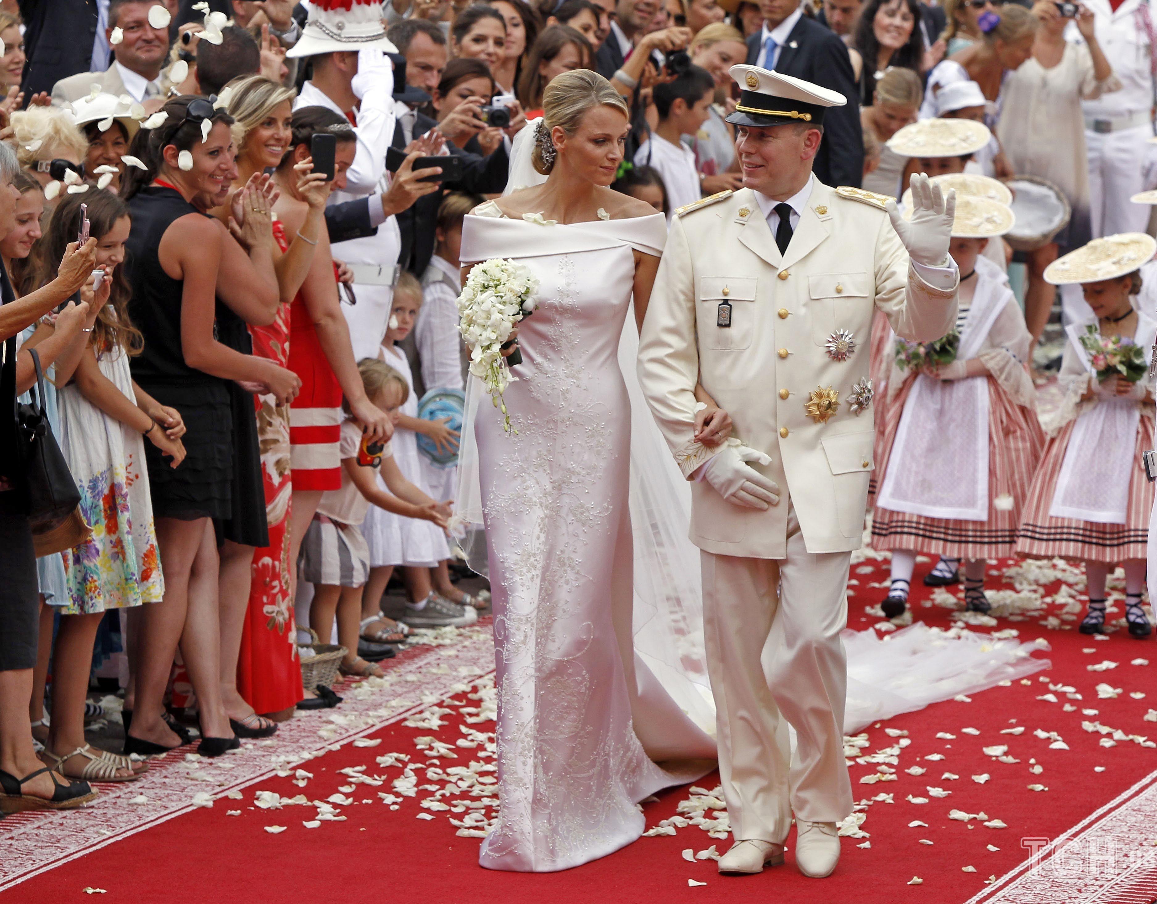 Князь Альбер II и княгиня Шарлин_4