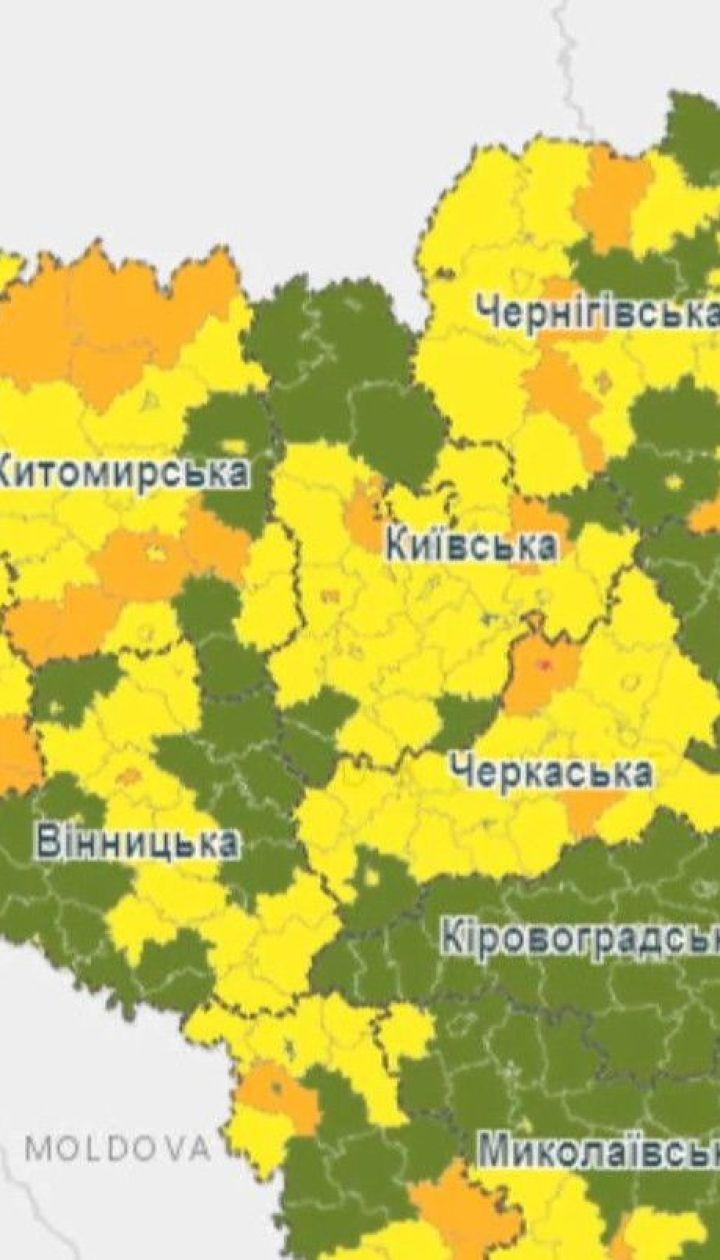 """Тернопіль і Канів опинилися у """"червоній"""" карантинній зоні"""