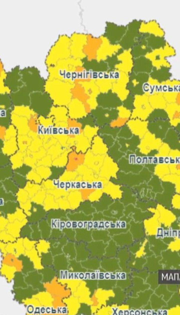 """Тернополь и Канев оказались в """"красной"""" карантинной зоне"""