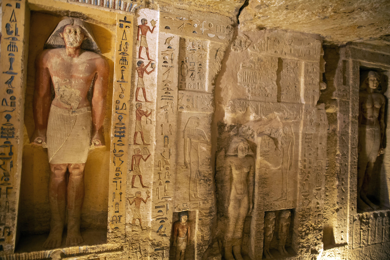 Нова знахідка в Єгипті, саркофаги, мумії_5