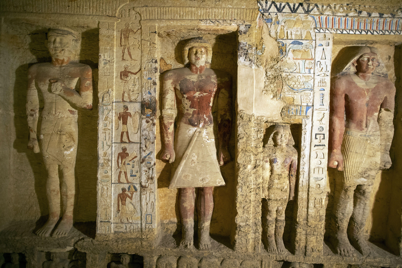 Нова знахідка в Єгипті, саркофаги, мумії_4