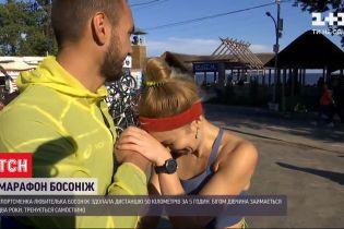 50 кілометрів без взуття: в Одесі спортсменка встановила рекорд України