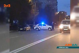 """В Броварах пьяный полицейский сбил двух человек на """"зебре"""", одна женщина погибла на месте"""