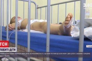 На Волыни пьяный отец избил четырех своих детей - 5-летний мальчик в реанимации