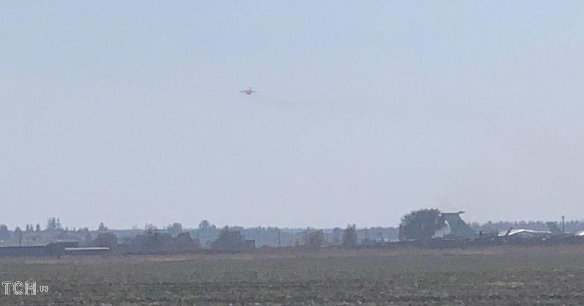 С Чугуева в свой последний полет отправили тела погибших в крушения Ан-26