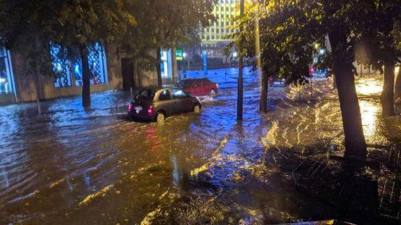 Івано-Франківськ, злива