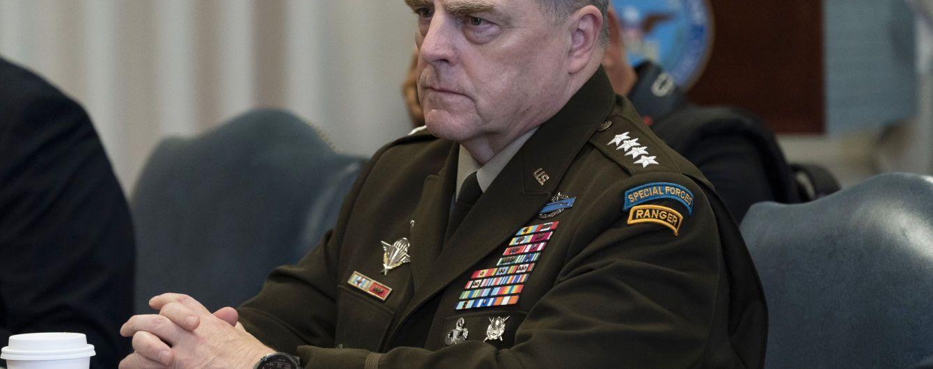 У США високопоставлений військовий відправився в карантин: що сталося