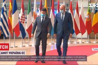 На саммите с ЕС в Брюсселе договорились о 60 млн евро для Украины