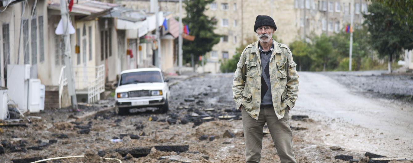 Росія вранці відправить миротворців у Нагірний Карабах