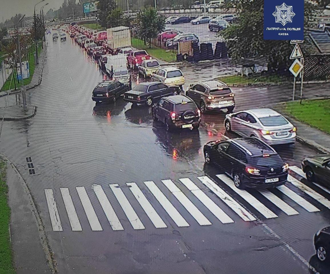 ДТП на вулиці Бальзака