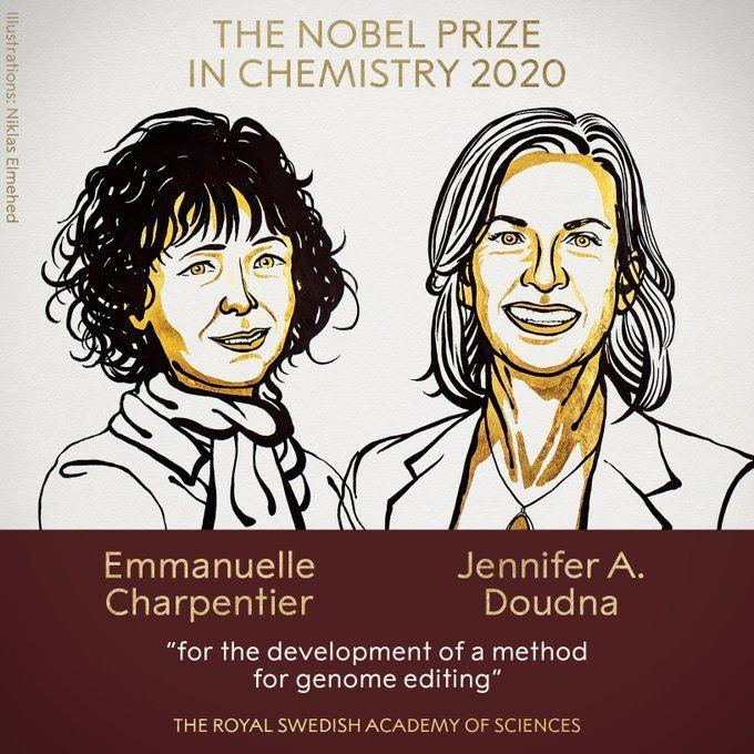 Нобелівська премія 2020 з хімії
