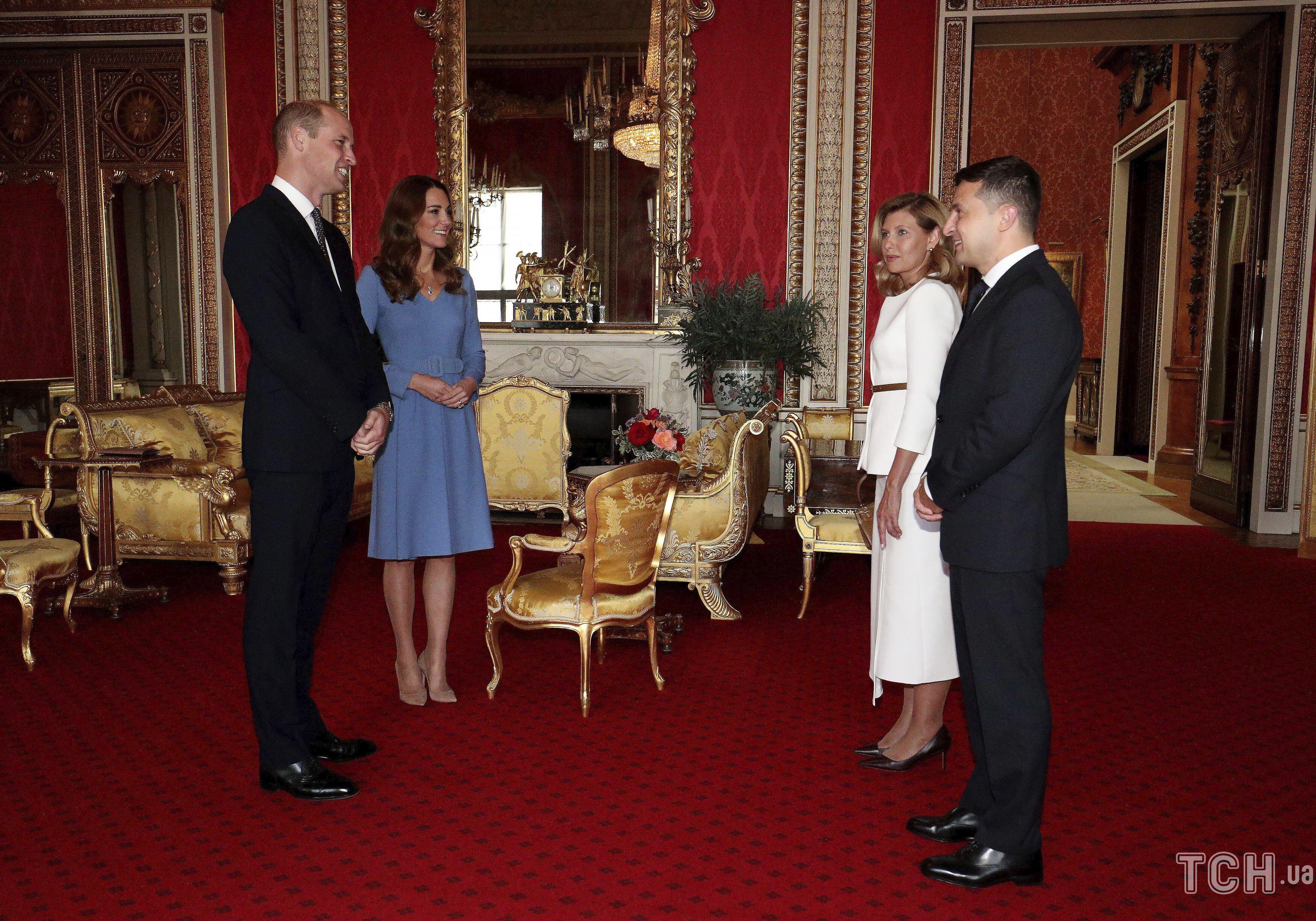 Герцогиня Кембриджская и принц Уильям, Владимир Зеленский и Елена Зеленская