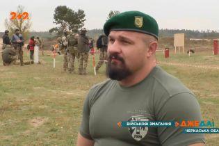 Проверка на выносливость: под Черкассами спецназовцы вышли на заядлый турнир