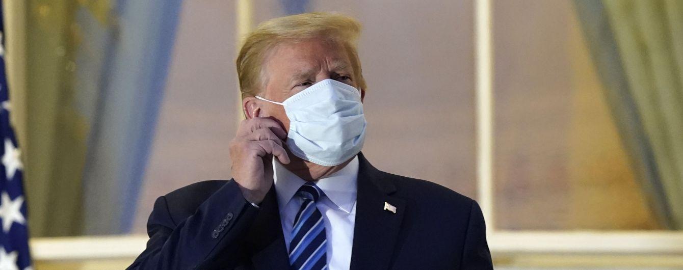 Президент США пообіцяв забезпечити кожному американцеві таке лікування від коронавірусу, яке отримав він