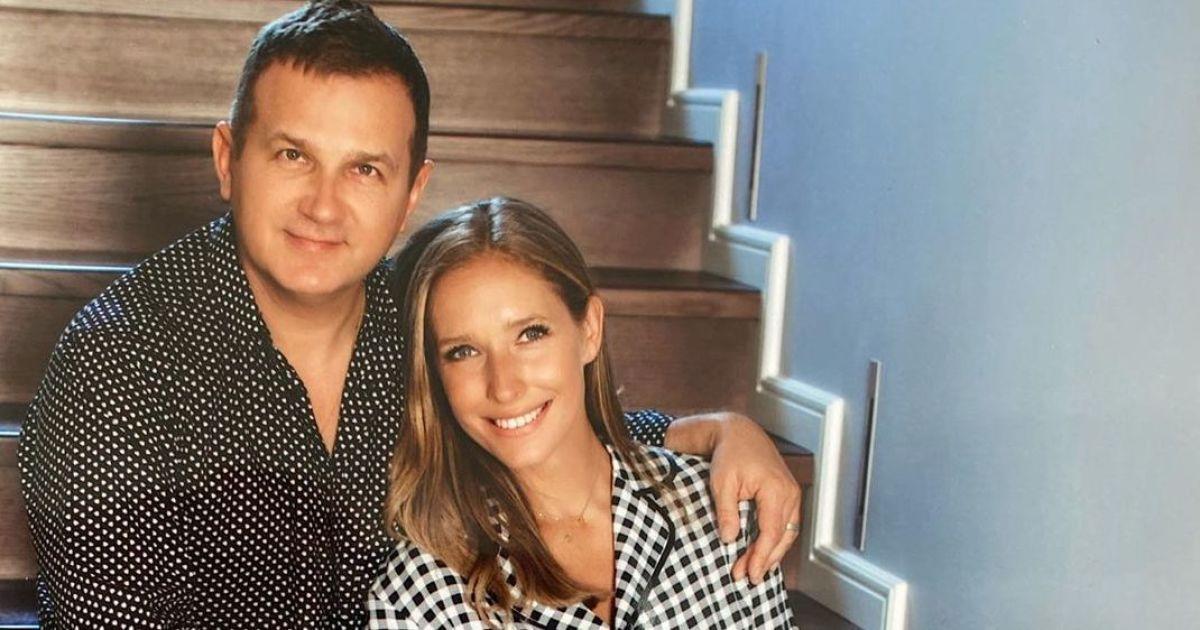 Обоє в піжамах: Катя Осадча та Юрій Горбунов влаштували фотосесію в будинку
