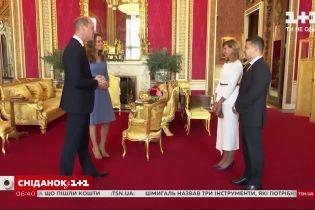 Володимир та Олена Зеленські зустрілися з принцем Вільямом і Кейт Мідлтон у Лондоні