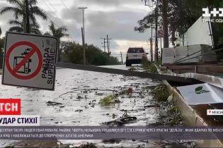 """Мексика и Куба страдают от последствий урагана """"Дельта"""""""
