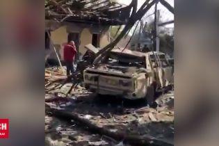 Обстрел азербайджанского города Барда
