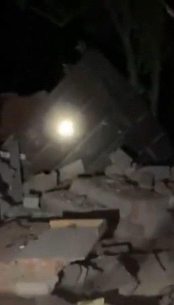 У Дніпрі вибухнув двоповерховий будинок, його власника ушпиталили з опіками рук