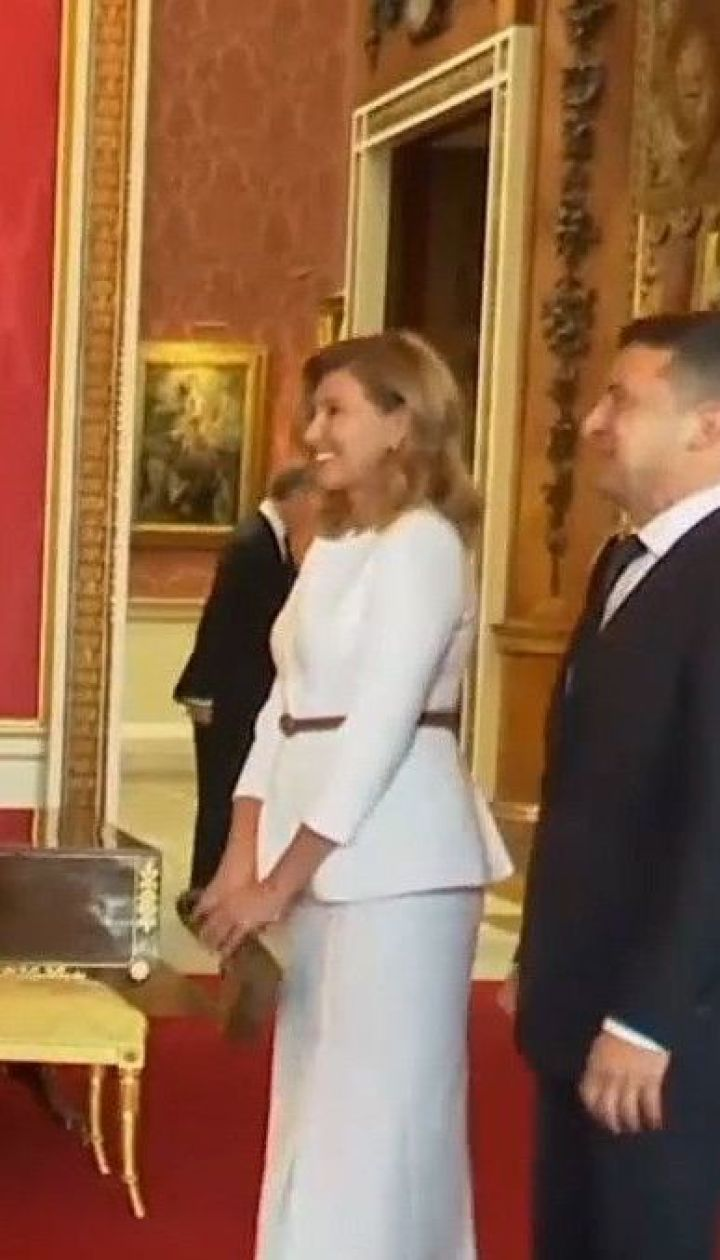 Подружжя Зеленських у Великій Британії зустрілось зі принцом Вільямом та його дружиною Кейт