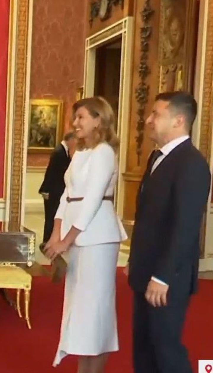Супруги Зеленских в Великобритании встретились с принцем Уильямом и его женой Кейт