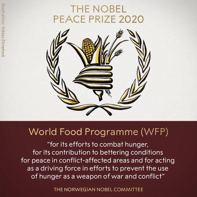 Нобелівська премія миру 2020